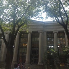 Photo taken at Harvard Law School Library by Andrew W. on 7/23/2012