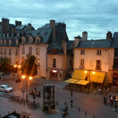 Photo taken at Place des Lices by Carmen M. on 8/27/2012