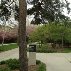 Photo taken at Hamilton Hall by @nathantwright on 4/4/2012