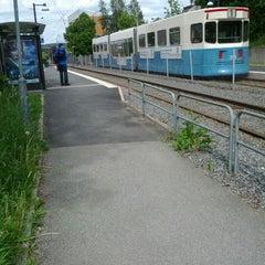 Photo taken at Hållplats Kaggeledstorget (S) by Fredrik A. on 5/31/2012