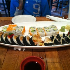 Photo taken at Samurai Blue Japanese Grill by Tiffany J. on 4/3/2012