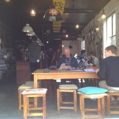 Photo taken at Lonsdale St. Roasters by jlo on 9/6/2012