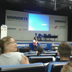 Photo taken at UniNorte Laureate by Taiane A. on 5/10/2012