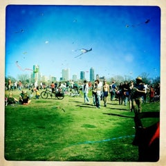Photo taken at Zilker Park by Caleb on 3/5/2012