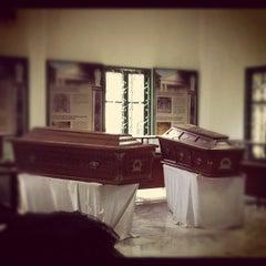 Photo taken at Museum Taman Prasasti by Rudy G. on 3/11/2012