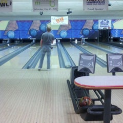 Photo taken at Royal Crest Lanes by Chuck B. on 7/16/2012