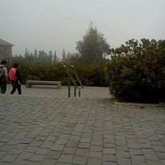Photo taken at Biblioteca by Javiera B. on 4/13/2012