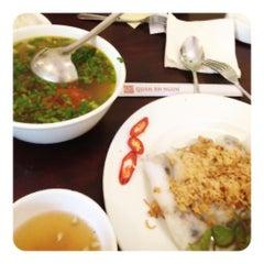 Photo taken at Quán Ăn Ngon by Vịt🍀 on 7/24/2012