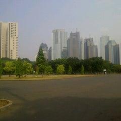 Photo taken at Parkir Timur Senayan by bang a. on 7/14/2012