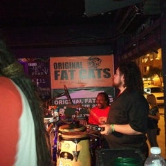 Photo taken at Original Fat Cats by Francis M. on 5/10/2012