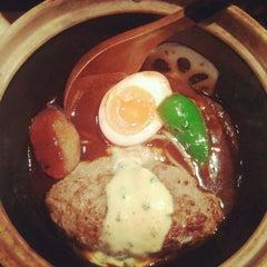 Photo taken at 俺のハンバーグ 山本 恵比寿本店 by Metalhealer Y. on 4/20/2012