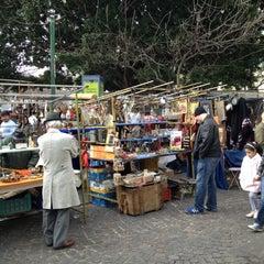 Photo taken at Plaza Dorrego by Lulu C. on 8/26/2012