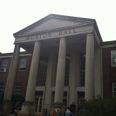 Photo taken at Morton Hall by Justin L. on 2/6/2012
