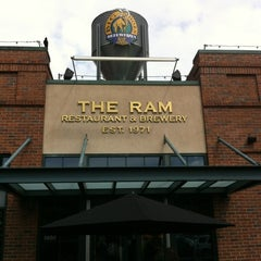 Photo taken at RAM Restaurant & Brewery by Jim S. on 6/7/2012