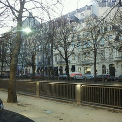 Photo taken at Avenue Louis Lepoutrelaan by Marc D. on 2/2/2012