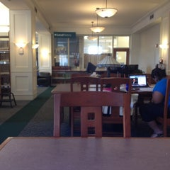 Photo taken at Huntington Public Library by Peace A. on 7/6/2012