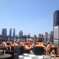 Photo taken at The Empire Hotel Rooftop by Mary S. on 7/4/2012