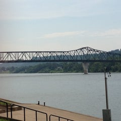 Photo taken at Harris Riverfront Park by Christine W. on 7/18/2012