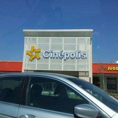 Photo taken at Cinépolis by Osvaldo O. on 5/24/2012