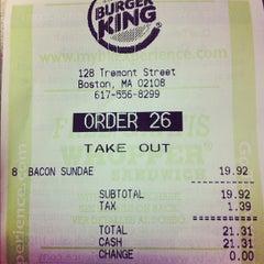 Photo taken at Burger King® by seana q. on 6/14/2012