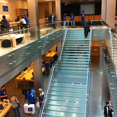 Photo taken at Apple Store, North Michigan Avenue by Tylor S. on 5/8/2012