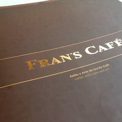 Photo taken at Fran's Café by Carlos C. on 5/9/2012