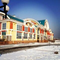 Photo taken at Железнодорожный вокзал Бийска by Nashatka on 2/26/2012