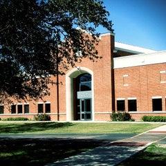 Photo taken at Houston Baptist University by Arsalan R. on 10/26/2011