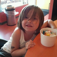 Photo taken at Revelations Yogurt by Rachel M. on 9/11/2011