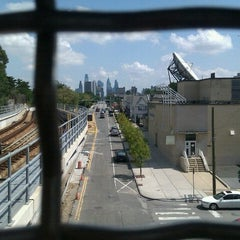 Photo taken at SEPTA: MFL 46th Street Station by Stephanie A. on 9/10/2011