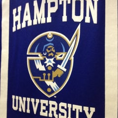 Photo taken at Hampton University by Tiffany F. on 5/11/2012
