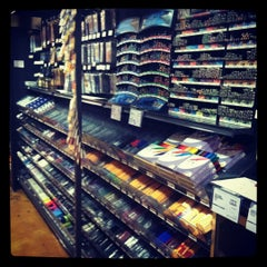 Photo taken at Blick Art Materials by Maggie M. on 4/1/2012