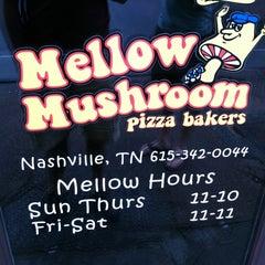 Photo taken at Mellow Mushroom by Drew V. on 7/12/2012