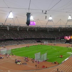 Photo taken at Olympic Stadium by Siân J. on 9/7/2012