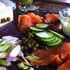 Photo taken at Acme Smoked Fish by Christian W. on 7/6/2012