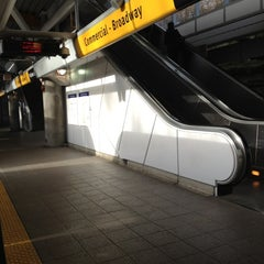 Photo taken at Commercial - Broadway SkyTrain Station by Manny V. on 2/23/2012