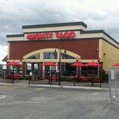 Photo taken at Mighty Taco by David L. on 9/9/2012