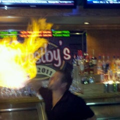 Photo taken at Westby's Pub & Eatery by Mark K. on 10/1/2011