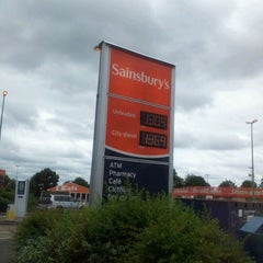 Photo taken at Sainsbury's by Timothy N. on 7/17/2012