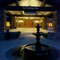 Photo taken at Sun Valley Lodge by Gordon B. on 6/26/2012