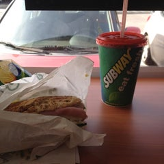 Photo taken at Subway by Tere V. on 5/23/2012