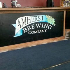 Photo taken at Amherst Brewing Company by Trista H. on 4/22/2012