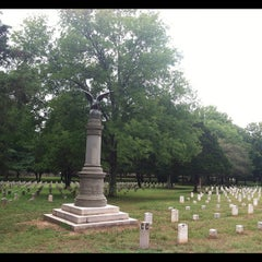 Photo taken at Stones River National Cemetery by Barbara R. on 7/13/2012