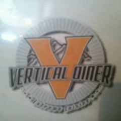 Photo taken at Vertical Diner by Heather B. on 3/24/2012