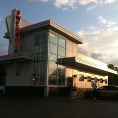 Photo taken at Swensons Drive-In by Logan S. on 5/19/2011