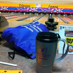 Photo taken at Clover Lanes by Bernice H. on 3/9/2012
