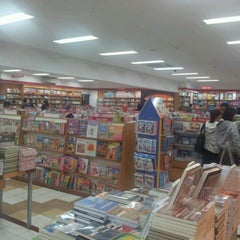 Photo taken at Gramedia by roven O. on 2/6/2012