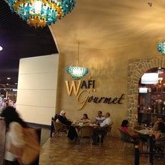 Photo taken at Wafi Gourmet وافي جورميه by Ibrahim :. on 3/30/2012