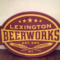 Photo taken at Lexington Beerworks by Chris R. on 12/21/2011