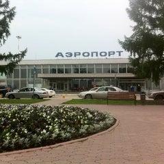 Photo taken at Международный аэропорт Большое Савино / Bolshoye Savino International Airport (PEE) by Андрей А. on 7/3/2012